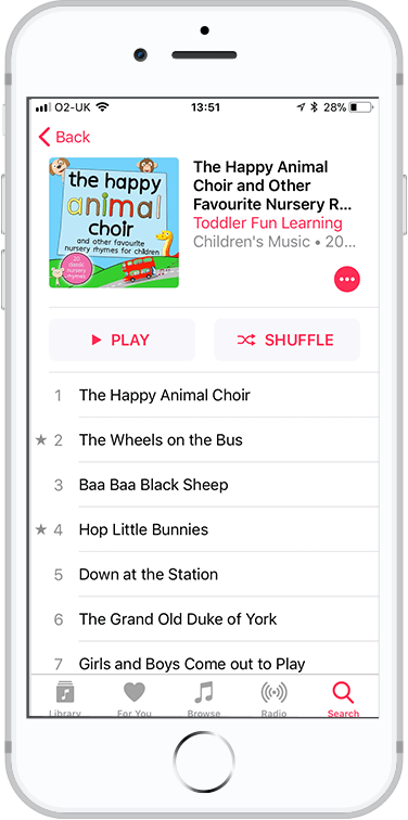 We released an album & launched an app for toddlers!