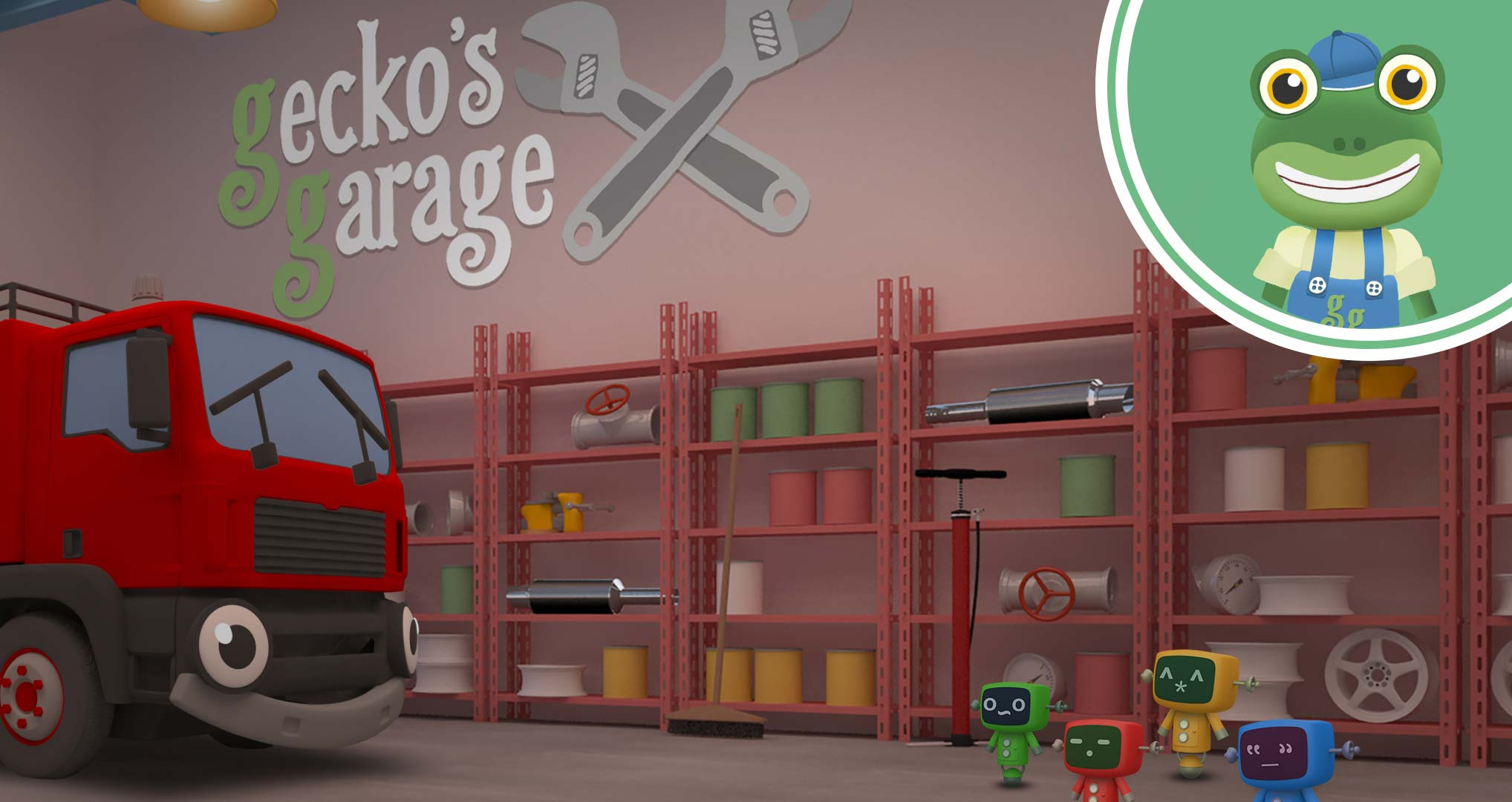 Gecko's Garage - Toddler Fun Learning
