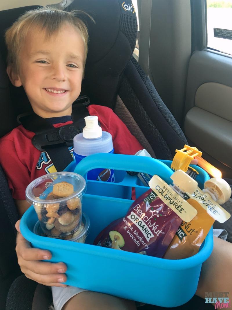 Car journey snacks kids