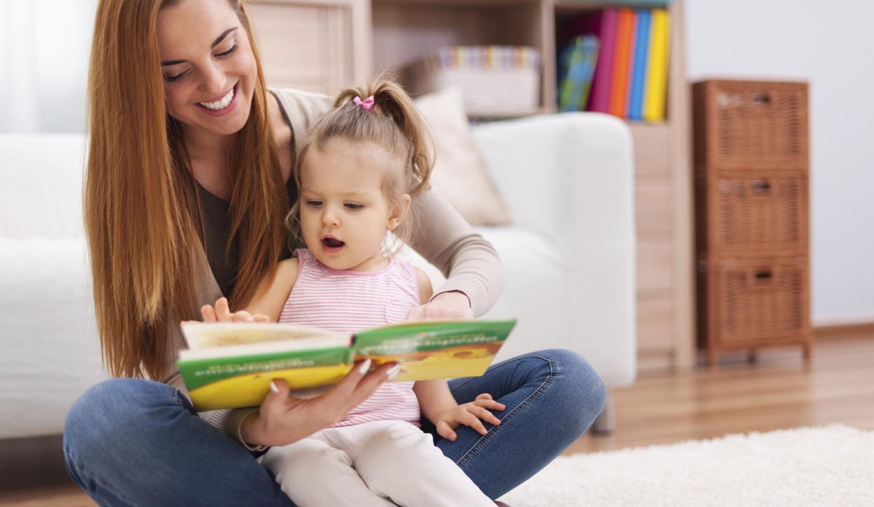 Top Tips For Reading With Under 5's