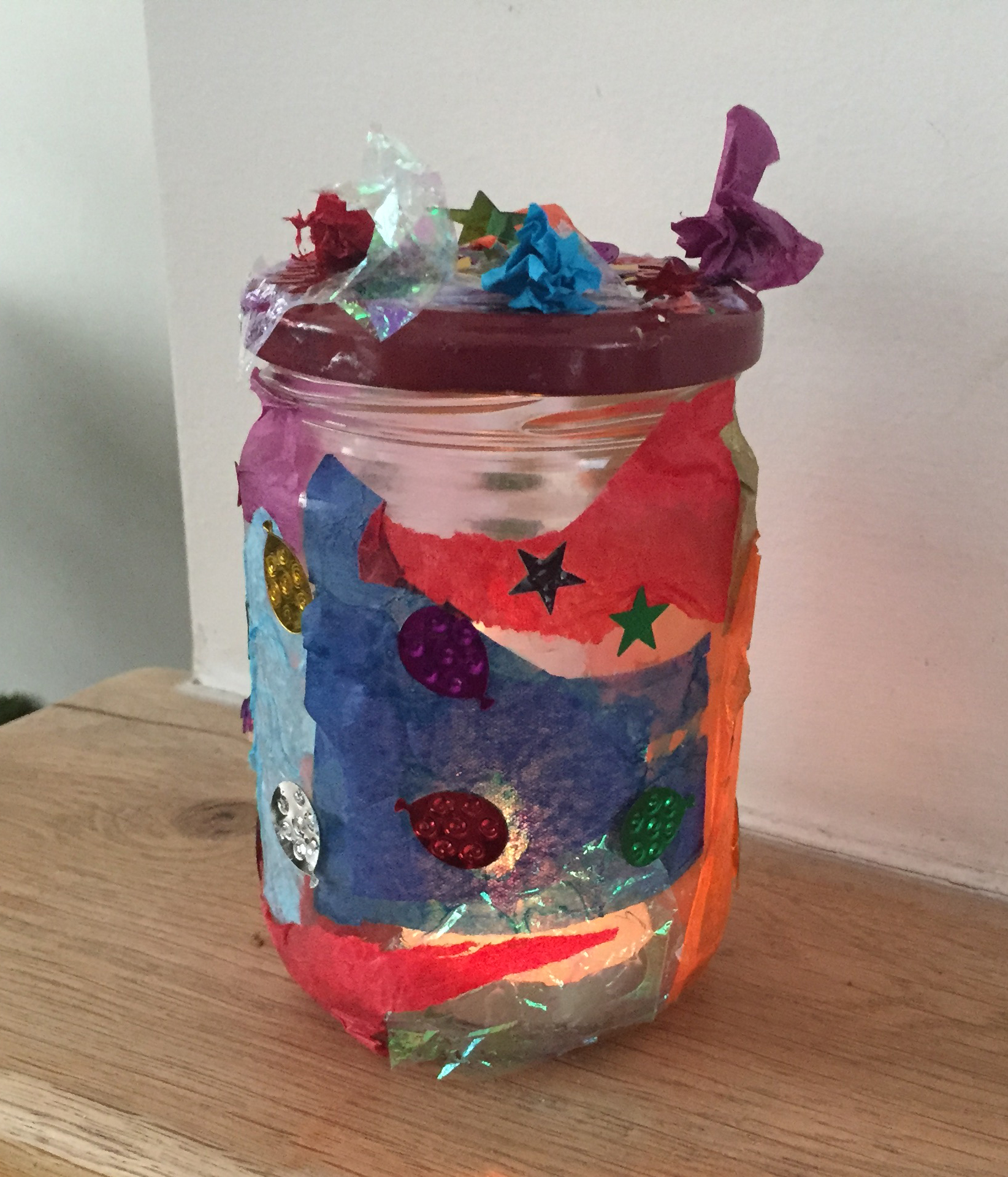 arts and craft lantern
