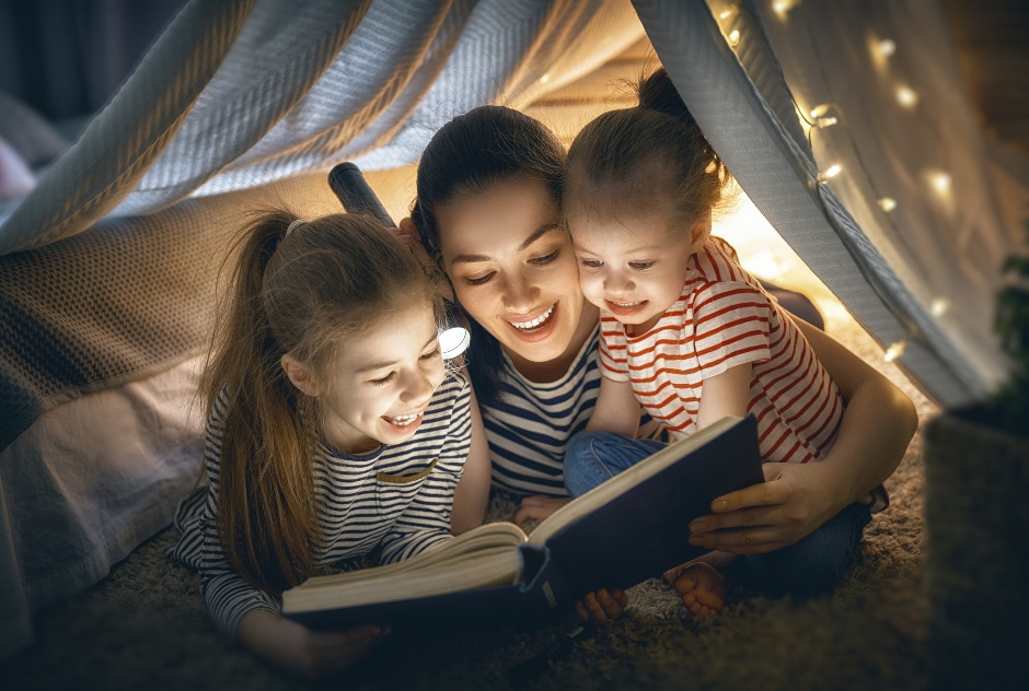 encourage kids to read, read together