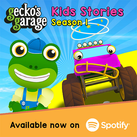 Gecko's Garage Stories Season 1