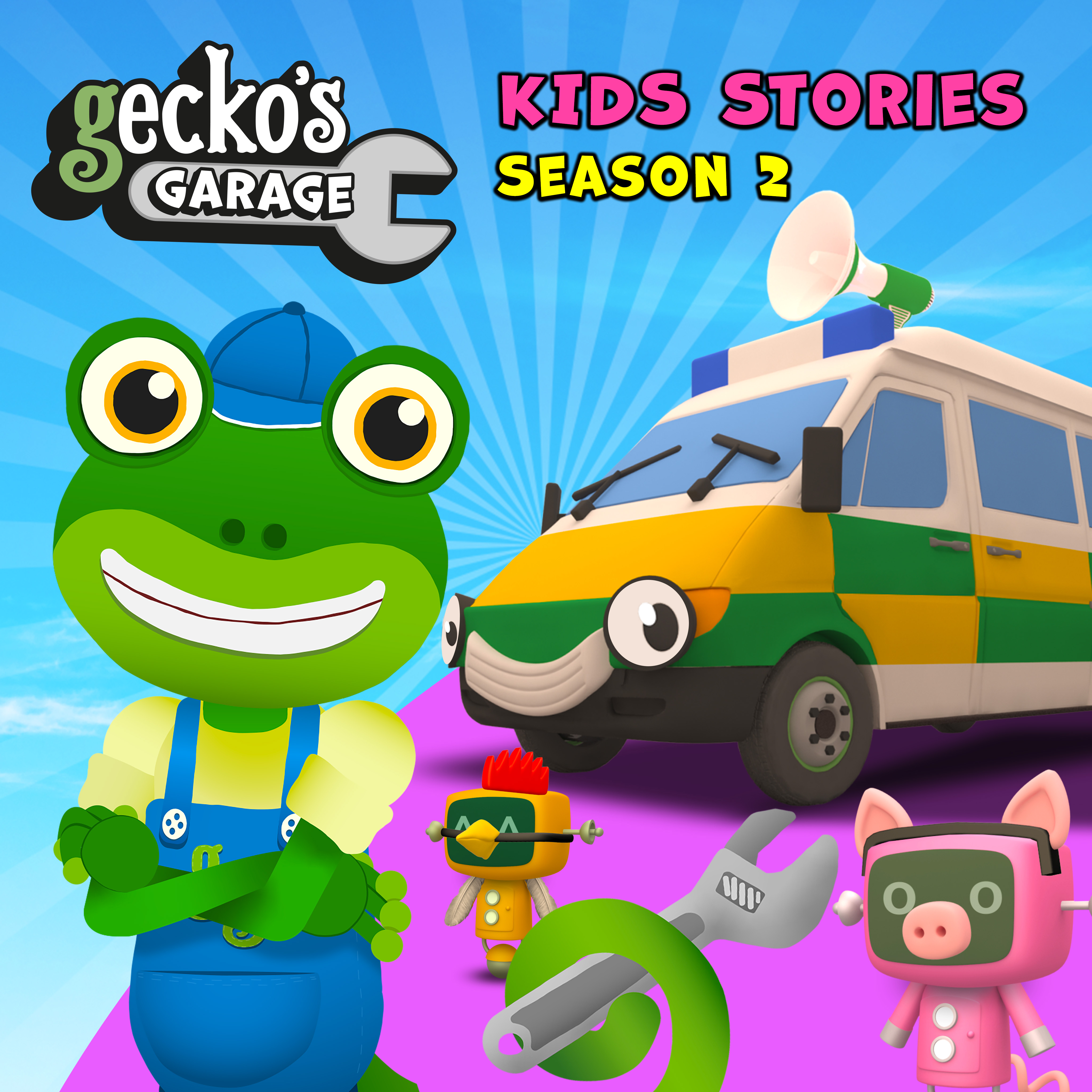 Gecko's Garage Stories Season 2