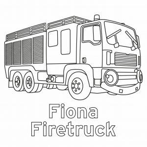 Fiona Fire Truck